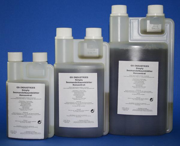 Seemandelbaumblätter konzentrat 5000 ml Dosierflasche