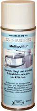 Multipolitur, Edelstahlpflege und Reinigungsspray 400 ml Aerosol