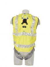 1-Punkt-Auffanggurt mit Warnschutzweste Protecta® Pro