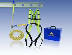 Artex Auffangsystem für Dachdecker