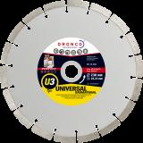 U-3, Universal Diamant Trennscheibe, Beton, Waschbeton, Ziegel
