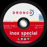 AS 30 S INOX,Schruppscheibe Metall fürRost- und säurebeständige Stähle, hochlegierte Edelstähle, Edelstahlblech