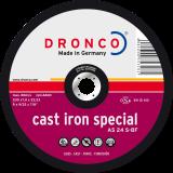 AS 24 S CAST / IRON,Schruppscheibe Metall, Spezialscheibe für die Bearbeitung von Guss