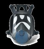 Vollmaske Serie 9000, Schutz vor Dampf, Gas, Staub