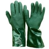 Chemiekalien-Schutzhandschuhe aus PVC
