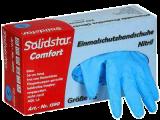 Nitril-Einmalschutzhandschuhe, blau, Spenderbox a 200 Stück (VE 10 Boxen)